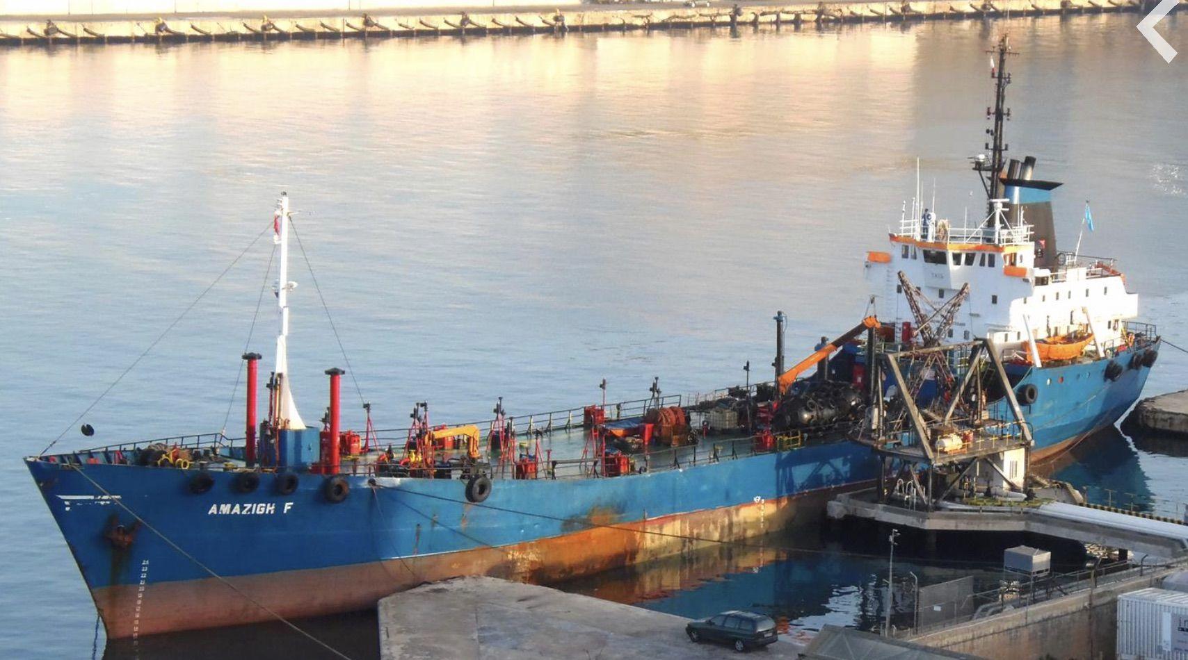 The ship Amazigh F.