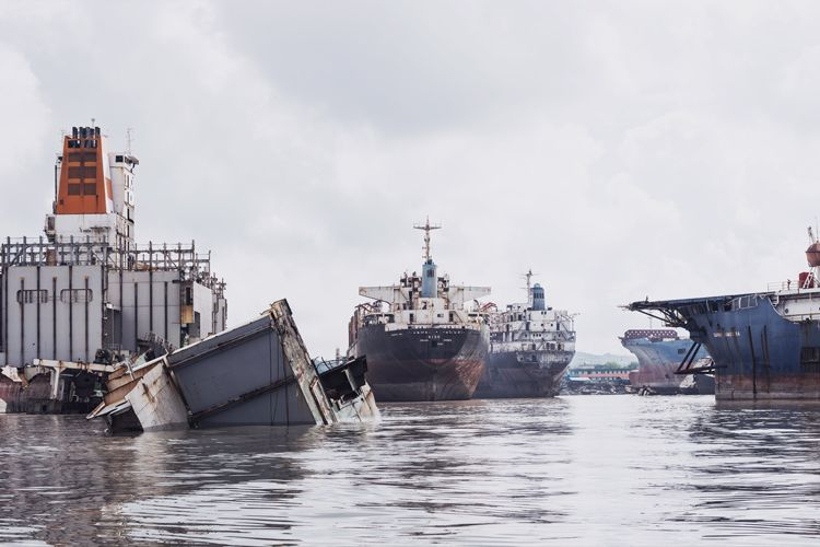 Where ships go to die
